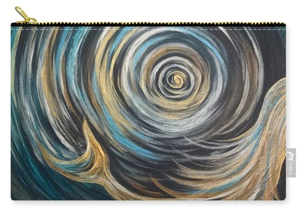 Golden Sirena Mermaid Spiral Carry-all Pouch