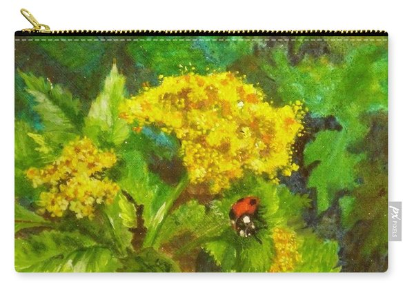 Golden Summer Blooms Carry-all Pouch