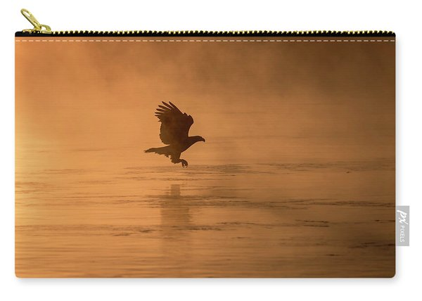 Golden Sunrise And Eagle  2016-3 Carry-all Pouch