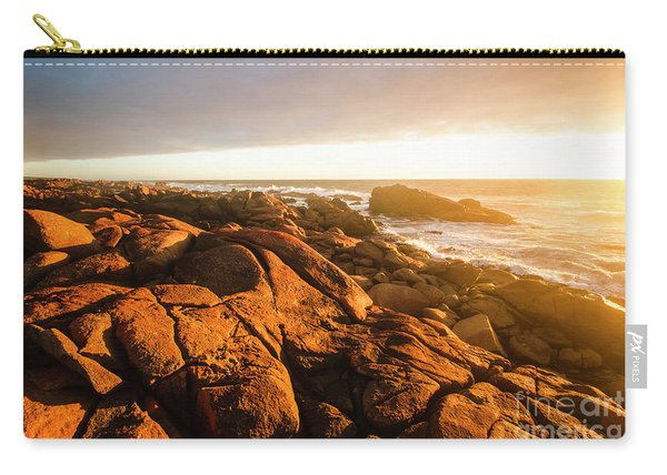 Golden Sunset Coast Carry-all Pouch