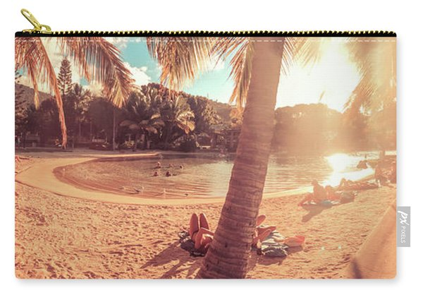 Golden Sunsets Of Airlie Beach Carry-all Pouch