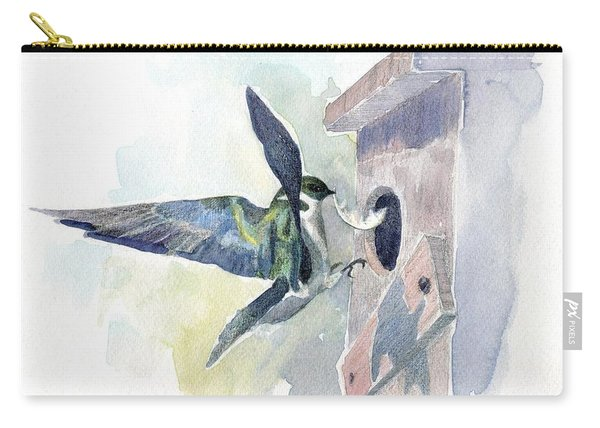 Golden Swallow Carry-all Pouch