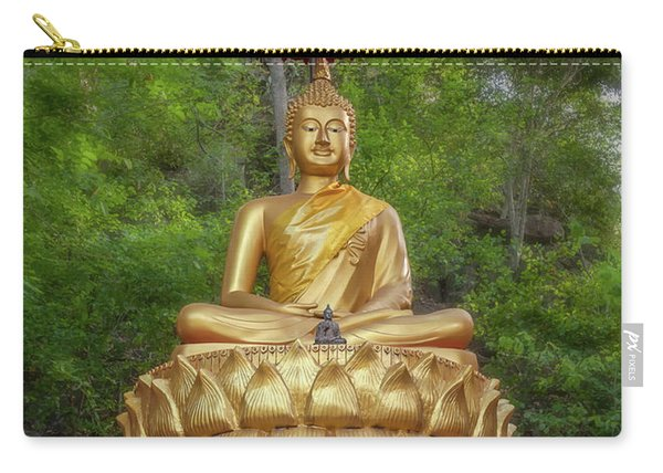 Golden Thai Buddha Carry-all Pouch