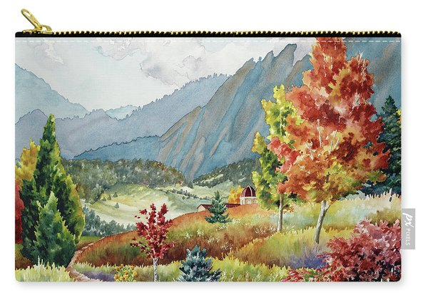 Golden Trail Carry-all Pouch