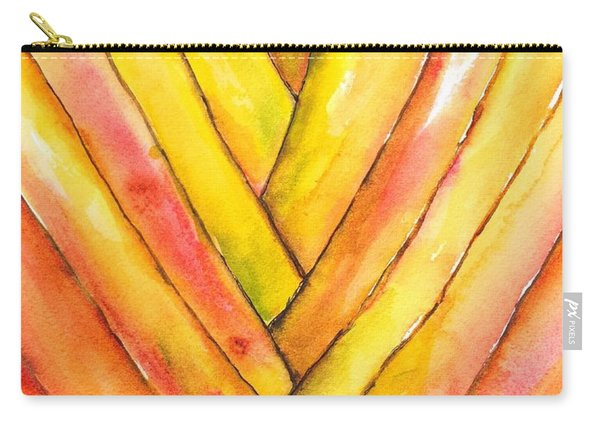 Golden Travelers Palm Trunk Carry-all Pouch