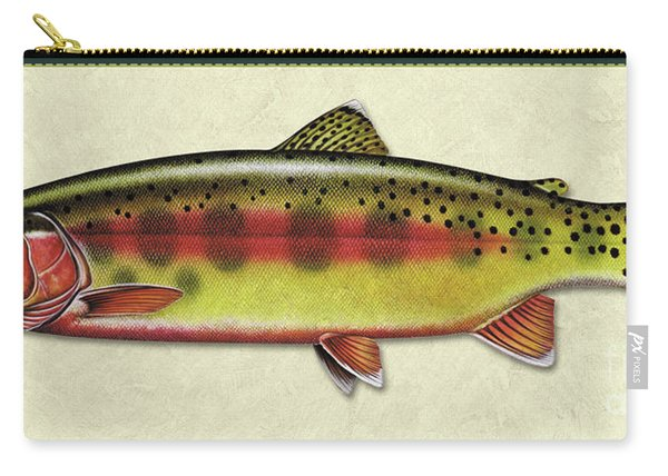 Golden Trout Id Carry-all Pouch