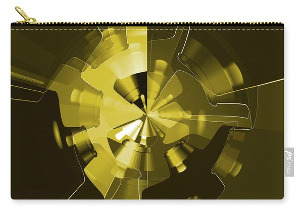 Golden Wheels Carry-all Pouch