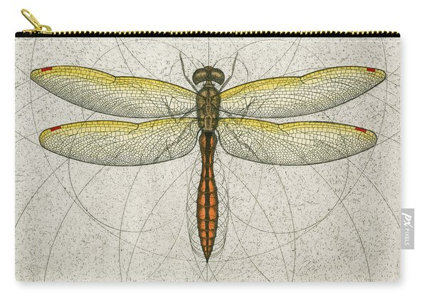 Golden Winged Skimmer Carry-all Pouch
