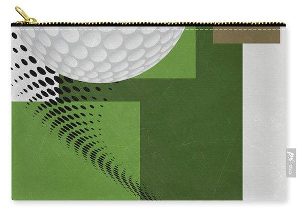 Golf Art Par 4 Carry-all Pouch