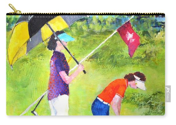 Golf Buddies #3 Carry-all Pouch