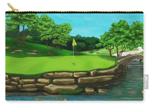 Golf Green Hole 16 Carry-all Pouch