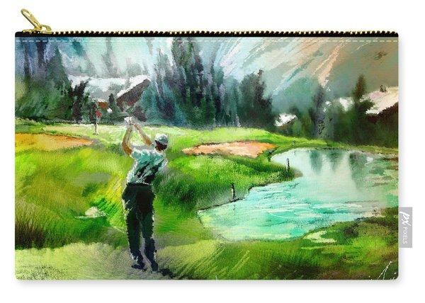 Golf In Crans Sur Sierre Switzerland 01 Carry-all Pouch