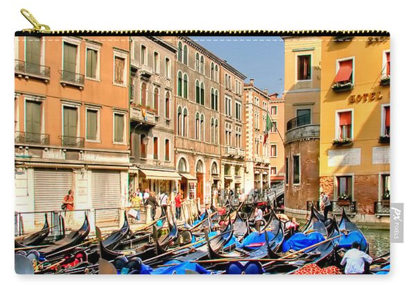 Gondolas In The Square Carry-all Pouch