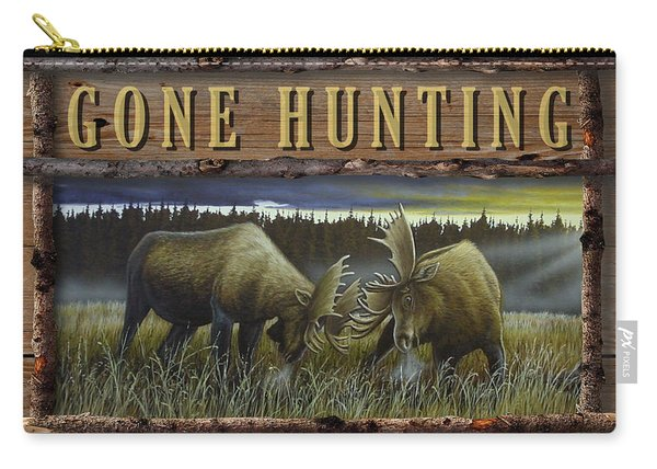 Gone Hunting - Locked At Lac Seul Carry-all Pouch