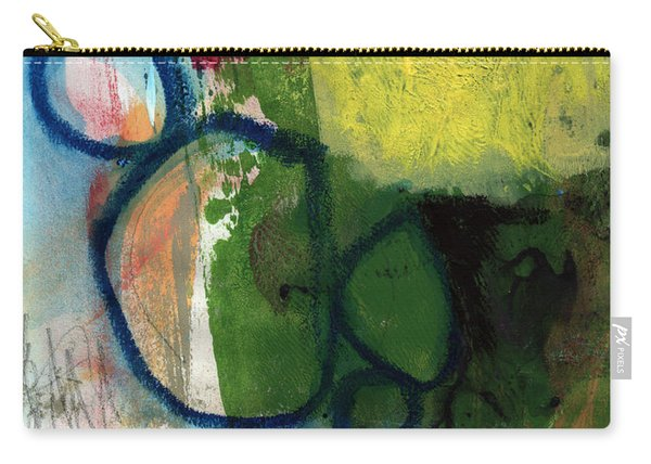 Good Day-abstract Painting By Linda Woods Carry-all Pouch
