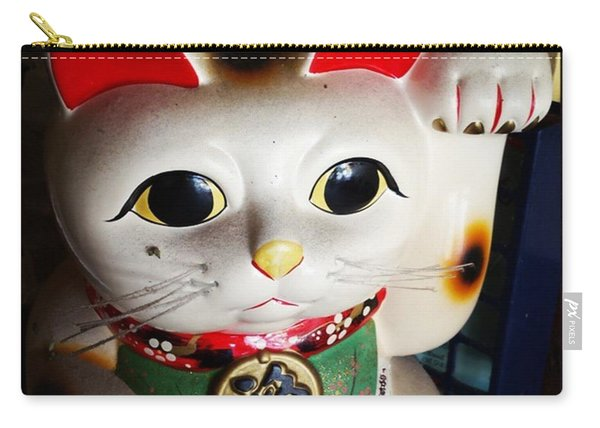 Carry-all Pouch featuring the photograph Good Meowning. #myfab5 by Mr Photojimsf