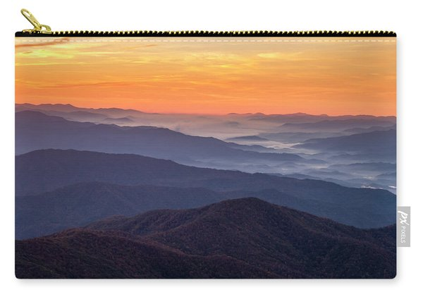 Good Morning Clingmans Dome In The Smokies Carry-all Pouch