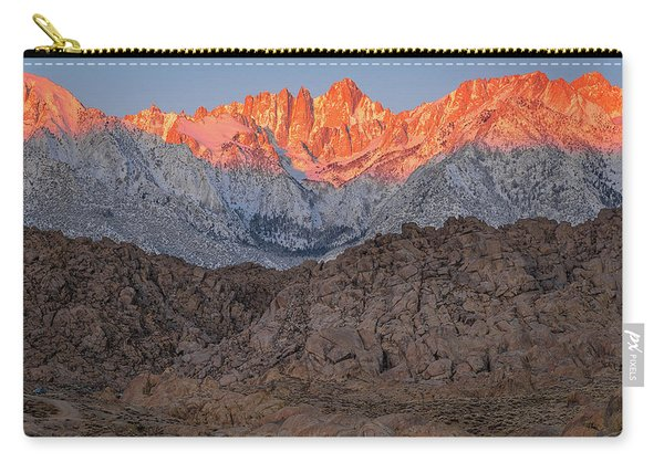 Good Morning Mount Whitney Carry-all Pouch