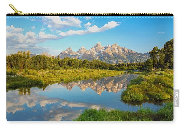 Good Morning Tetons Carry-all Pouch