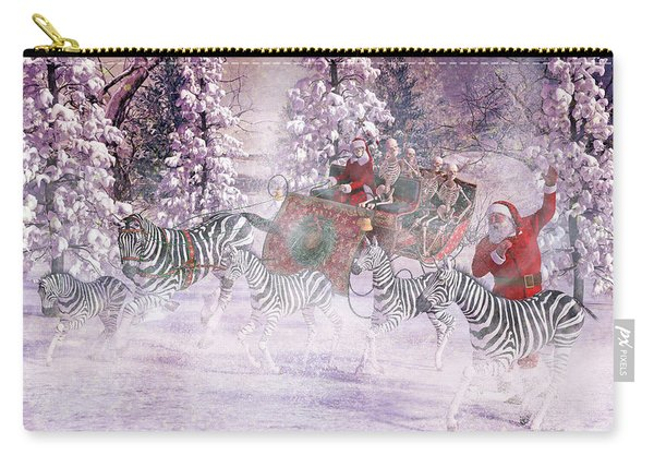 Good Tidings And Joy Carry-all Pouch