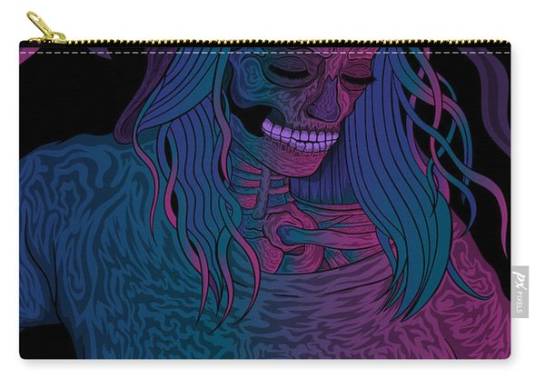 Good Vibes Skelegirl Carry-all Pouch