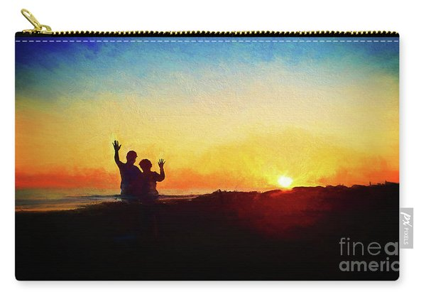 Goodnight Mr. Sun  Carry-all Pouch