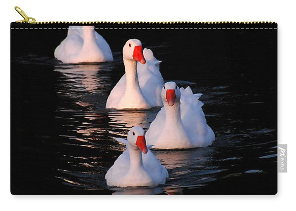 Goose Parade Carry-all Pouch