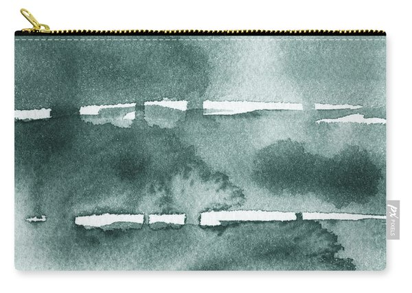 Gorgeous Grays Abstract Interior Decor Ix Carry-all Pouch