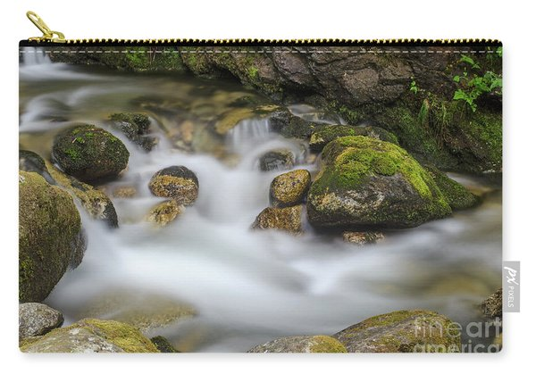 Goritsa Waterfalls Stream-bulgaria Carry-all Pouch