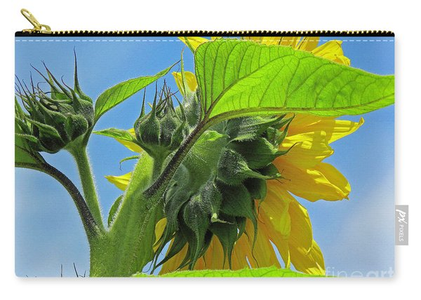 Gospel Flat Sunflower #2 Carry-all Pouch