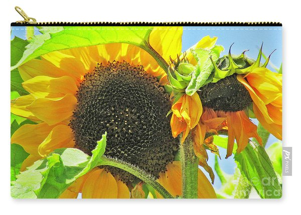 Gospel Flat Sunflowers Carry-all Pouch