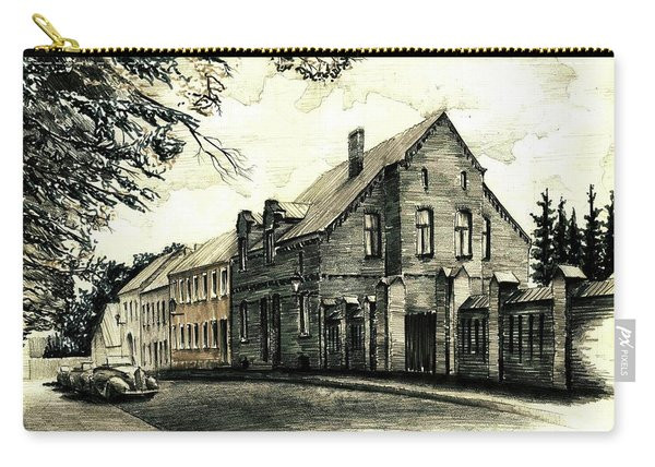 Gothic City Street  Carry-all Pouch