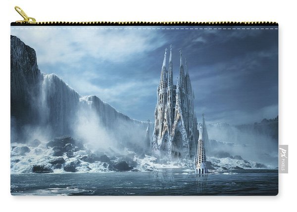Gothic Fantasy Or Expiatory Temple Carry-all Pouch