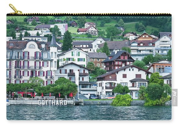 Hotel Gotthard On Lake Lucerne Carry-all Pouch
