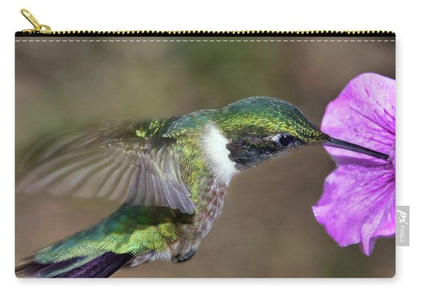 Grace In Green And Purple Carry-all Pouch