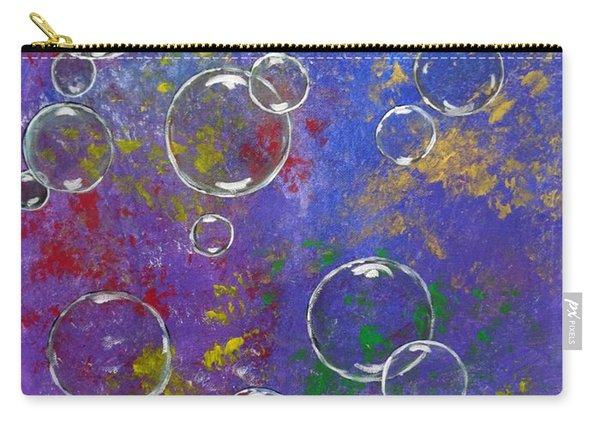 Graffiti Bubbles Carry-all Pouch