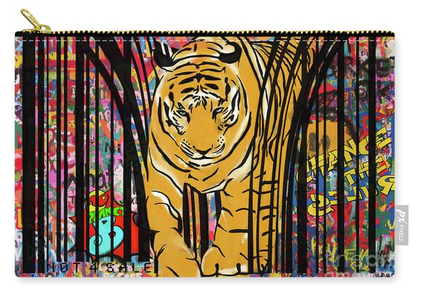 Graffiti Tiger Carry-all Pouch