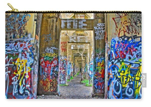 Grafiti Bridge To Nowhere Carry-all Pouch