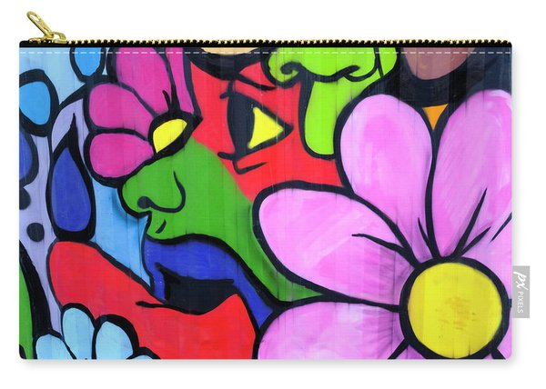 Grafitti On A Wall Detroit Michigan Carry-all Pouch
