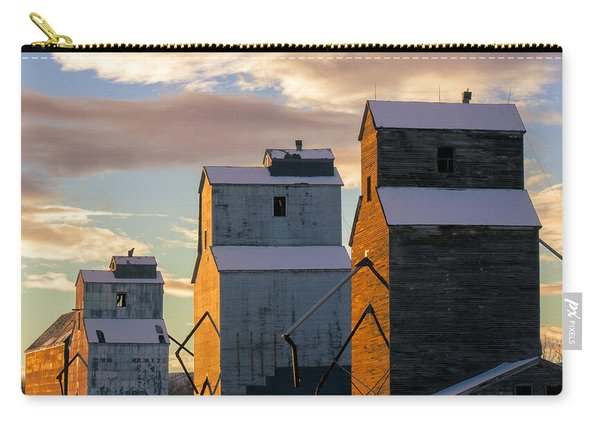Grainery Row Square Carry-all Pouch