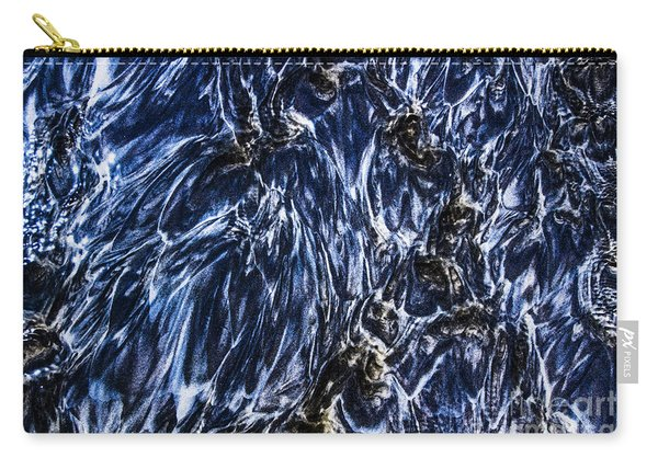 Grainy Sands And Sea Water Carry-all Pouch
