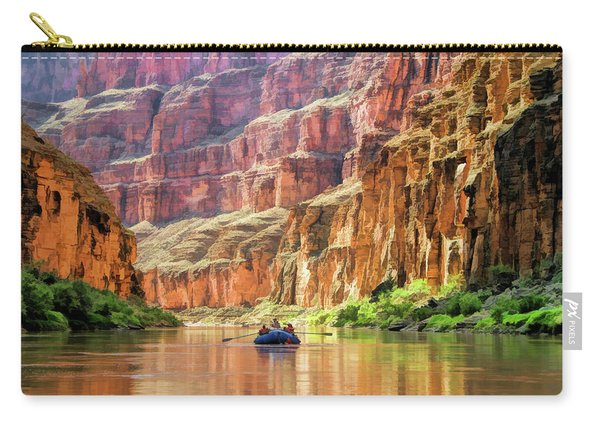 Grand Canyon Colorado River Rafting Carry-all Pouch