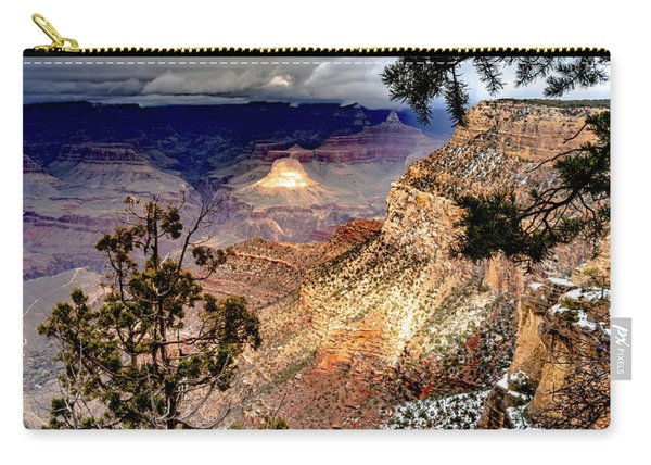 Grand Canyon In Winter Carry-all Pouch