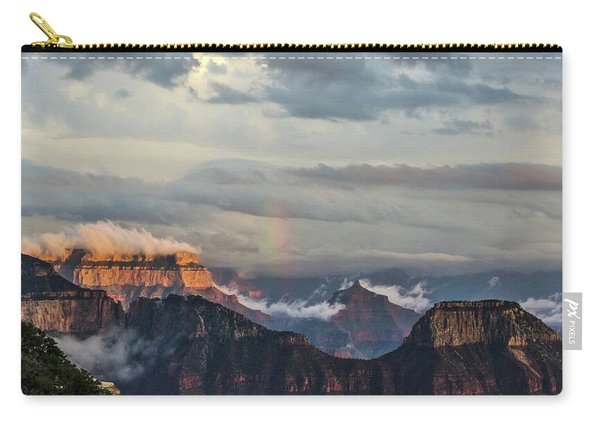 Grand Canyon Monsoon Rainbow Carry-all Pouch