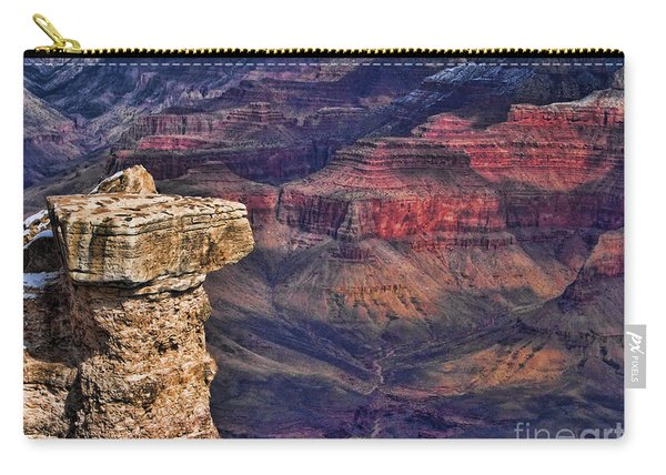 Grand Canyon Stacked Rock Carry-all Pouch