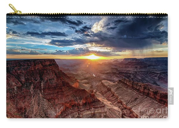 Grand Canyon Sunburst Carry-all Pouch
