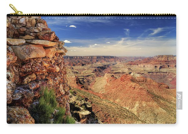 Grand Canyon Wall Carry-all Pouch
