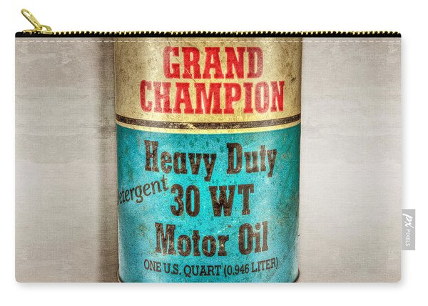 Grand Champion Motor Oil Carry-all Pouch