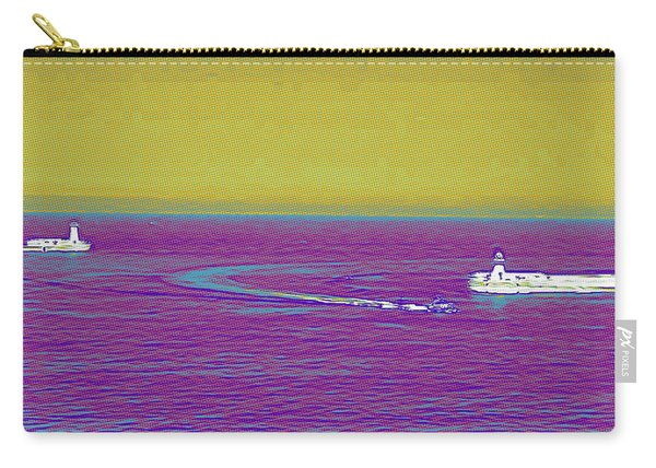 Purple Sea Carry-all Pouch