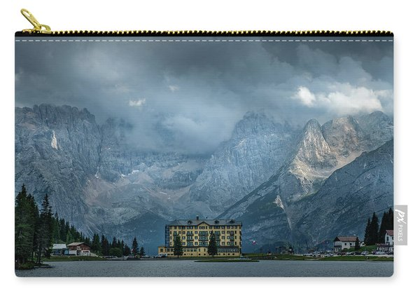 Grand Hotel Misurina Carry-all Pouch